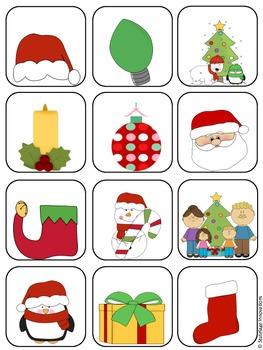 Christmas File Folder Matching Game 2