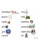 Christmas File Folder Word Wall