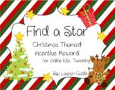 Christmas Find a Star Incentive Reward for online ESL Teaching