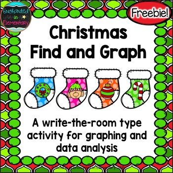 Christmas Find and Graph {Freebie!}