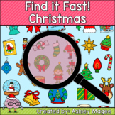 Christmas Find it Fast Card Game
