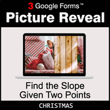 Christmas: Find the Slope Given Two Points - Google Forms