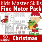 Christmas Fine Motor Activities Pack - (With Math and Sigh