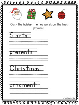 Christmas Fine Motor Bundle