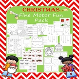 Christmas Handwriting and Fine Motor Fun Pack