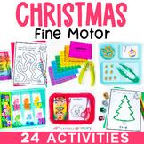 Christmas Fine Motor Skill Activities   December & Holiday