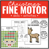 Christmas Fine Motor Practice, Skills and Activities