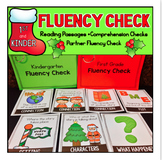 Fluency Passages Christmas Kindergarten First Grade