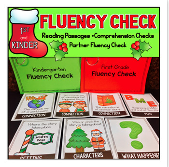 Christmas Fluency Passages Reading Comprehension First Kin