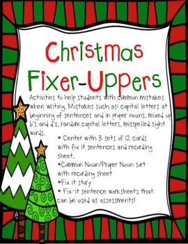 Christmas Fixer-Uppers