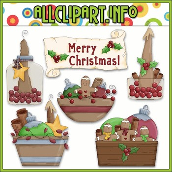 Christmas Fixin Clip Art - Alice Smith Clip Art