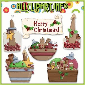 Christmas Fixin Clip Art - Alice Smith Clip Art