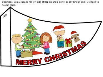 Christmas Flag Pattern