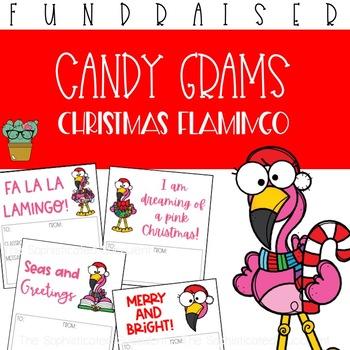 Christmas Flamingo Candy Grams