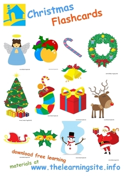 Christmas Flashcards by The Learning Site | Teachers Pay ...