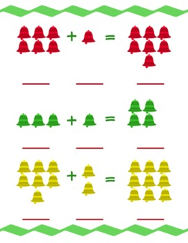 Christmas Flashcards AND 3 Math Center activities