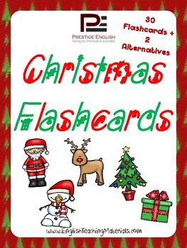 Christmas Flashcards | FREE/FREEBIE