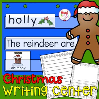 Christmas Flashcards Theme Words Poster Vocabulary Pictionary