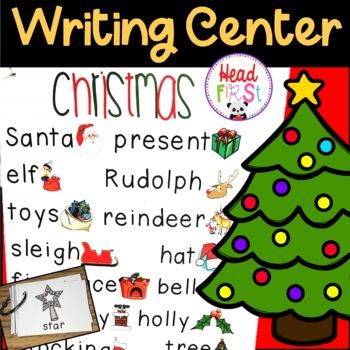 Christmas Pictionary.Christmas Pictionary Cards Vocabulary Writing Center Write The Room