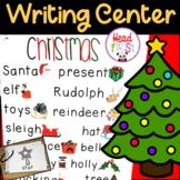 Christmas Pictionary Cards - Vocabulary, Writing Center, W