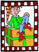 Christmas Flashcards and Puzzles for ELL