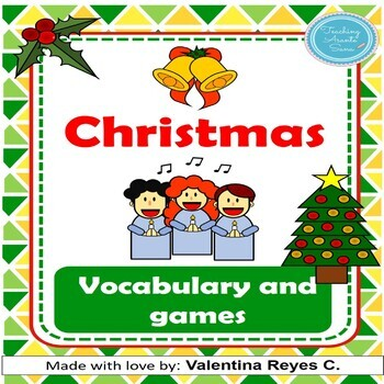 Christmas Flashcards and games