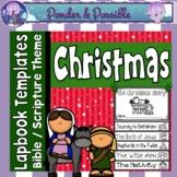 Christmas Nativity Flip Book ~ The birth  of Jesus
