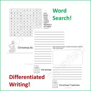 Christmas Flip Book - Primary
