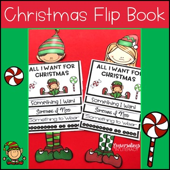 Christmas Writing Activities Holiday Flip Book