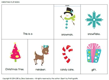 Christmas Flip Books (lowercase letters)
