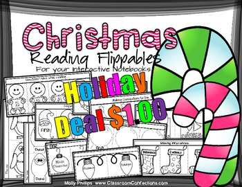 Christmas Reading Activities: for Reading Interactive Notebooks