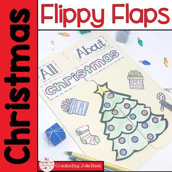 Christmas Activities Interactive Notebook Lapbook