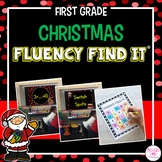 Christmas Fluency Find It (1st Grade)