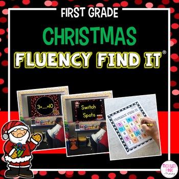 Christmas Fluency Find It (1st Grade)