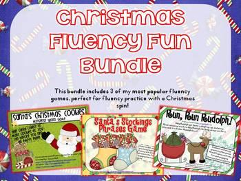 Christmas Fluency Fun Bundle