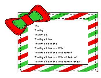 Christmas Fluency Fun Sentences