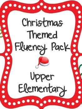 Christmas Fluency Pack- Upper Elementary