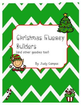 Christmas Fluency Package and other Goodies!