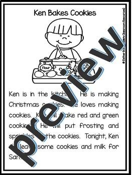 Christmas Fluency Stories (Grades 1-3)