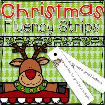 Christmas Fluency Strips