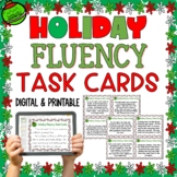 Christmas Fluency Task Cards { Short stories for Oral Flue