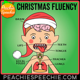 Christmas Fluency Therapy Activities (Stuttering Therapy)
