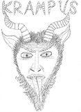 Christmas Folklore: Krampus: Half Devlil, Half Goat