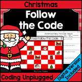 Christmas Follow the Code (Coding Unplugged)