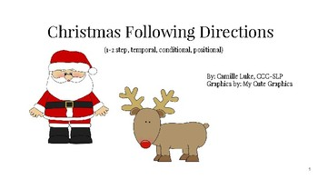 Christmas Following Directions