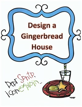 Christmas Activity Following Directions: Have Kids Design a Gingerbread House