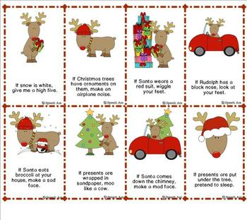 Christmas Following Directions Pack