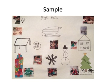 Christmas Following Directions, Reading Comprehension & Sequencing w/ Real Pics