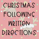 Christmas Following Written Directions