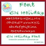 Christmas Font SN Holiday